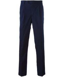 Mp Massimo Piombo | Pleated Slim Fit Trousers Size 52