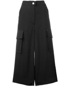 Mm6 Maison Margiela | Wide Leg Cropped Pants Size 48