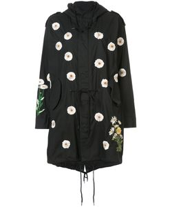 Creatures Of The Wind | Daisy Embroidery Hooded Coat