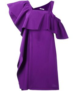 Dorothee Schumacher | Ruffled Asymmetric Dress Size