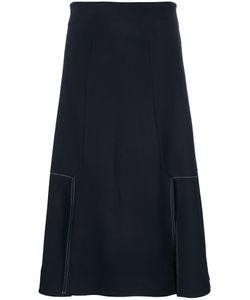 Studio Nicholson   A-Line Midi Skirt 0 Spandex/Elastane/Viscose/Wool