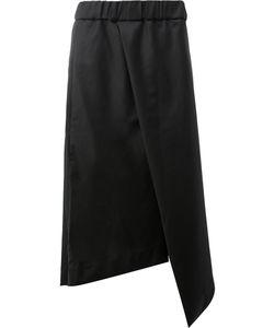 Moohong | Asymmetric Apron Cropped Trousers Men