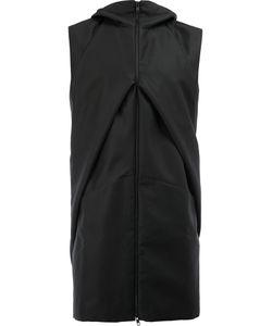 Moohong   Hooded Sleeveless Jacket Size 48