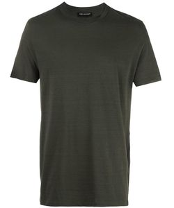 Neil Barrett | Round Double Neckline T-Shirt Small Cotton