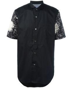 Junya Watanabe Comme Des Garçons   Man Printed Sleeves Shirt Size