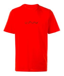 Oamc | Snake T-Shirt Small Cotton