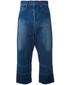 Y's   Cropped Wide-Leg Jeans 1