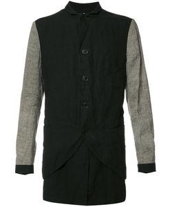 Ziggy Chen | Contrasting Sleeve Shirt Jacket 48