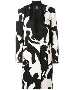 Paul Smith Black Label | Dancer Print Coat 42