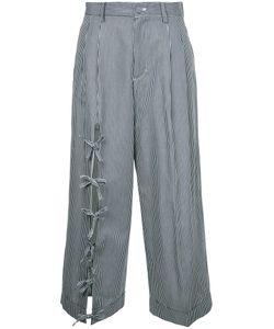 Facetasm | String Cropped Pants