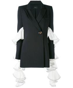 Ellery | Extended Ruffle Sleeve Blazer Women