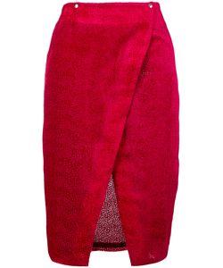 Roseanna | Textured Wrap Skirt 38