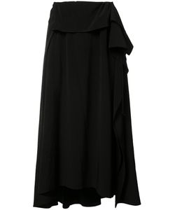 Y's | Pleated Flare Skirt 2 Polyester/Triacetate