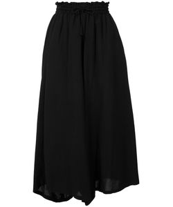 Y's   Wide-Legged Cropped Trousers Size 2