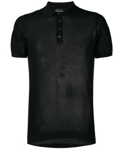 Roberto Collina | Net Polo Shirt Size 48