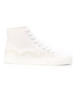 Simone Rocha | Embellished Lace Up Sneakers