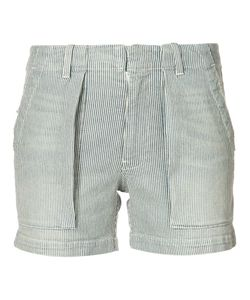 Nili Lotan   Striped Denim Shorts