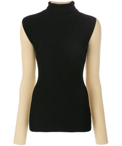 Petar Petrov | Contrast Sleeve Knitted Top Women