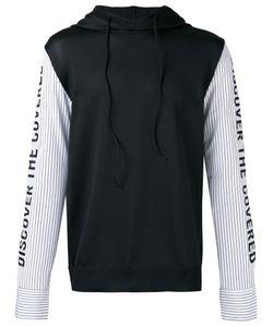 Juun.J   Striped Sleeves Hoody Size 48