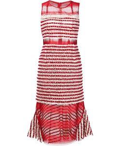 Natargeorgiou | Sheer Panel Dress