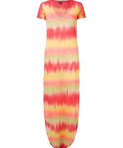 Skinbiquini | Side Slits Long Tie Dye Dress