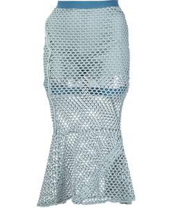 Musée | Sea Net Flare Skirt