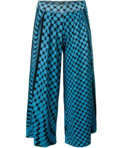 Lala Berlin | Printed Pleated Culottes Large