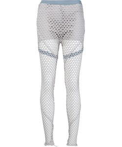 Musée | Netted Overlay Leggings Medium