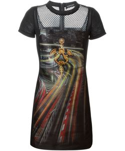 Antpitagora | Quilted Digital Print Dress