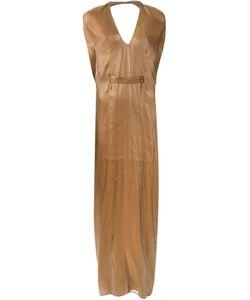 Iris Van Herpen | Long Pleated Kimono Dress