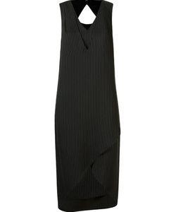 Uma | Layered Pinstripe Dress