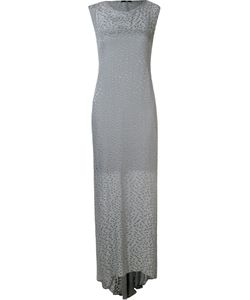 Uma | Burnout Long Dress