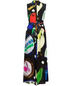 Novis | Sleeveless Printed Shirt Dress
