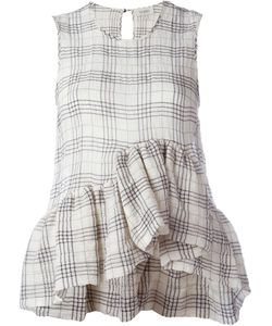 Isa Arfen | Plaid Sleeveless Top