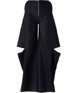 Eckhaus Latta | Wide Leg Cut Out Pants Medium