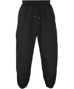 Nasir Mazhar | Embroidered Technic Cuffed Tapered Trousers
