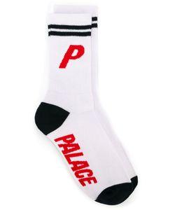 Palace   Logo Print Socks