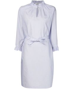 Atlantique Ascoli | Frill Collar Shirt Dress