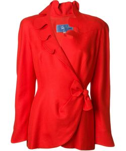 Thierry Mugler Vintage | Scalloped Wrap Jacket