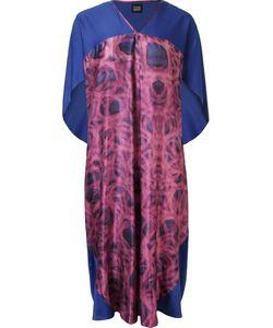 Fernanda Yamamoto | Abstract Print Pleated Midi Dress