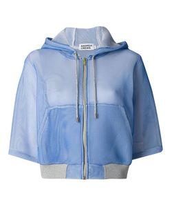 Andrea Crews   Bell Sleeves Hooded Jacket