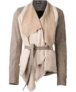 Lost And Found   Draped Shearling Jacket