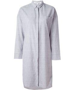 Valentine Gauthier | Striped Bedouin Oversized Shirt Dress