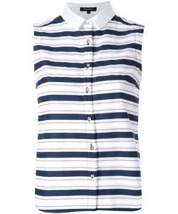 Loveless | Striped Sleeveless Shirt