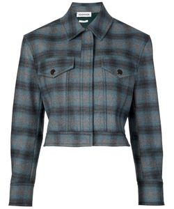 Koonhor | Plaid Cropped Jacket