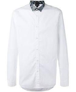 Just Cavalli | Snakeskin-Effect Collar Shirt Size 52