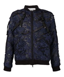 James Long | Lace Bomber Jacket