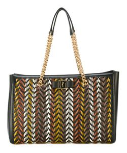 Salvatore Ferragamo | Woven Texture Shoulder Bag