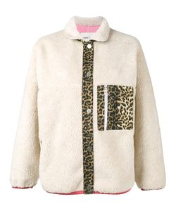 Sandy Liang | Checkers Leopard Print Jacket Cotton/Polyester/Lamb