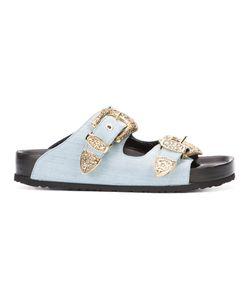 Fausto Puglisi   Buckle Slider Sandals Women
